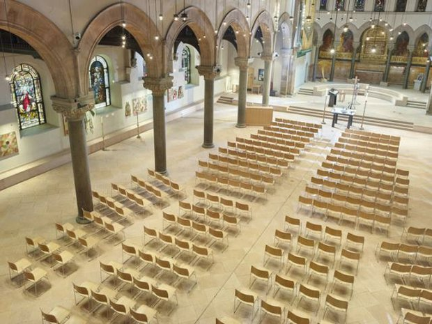 Howe Seating - Philadelphia Episcopal Cathedral