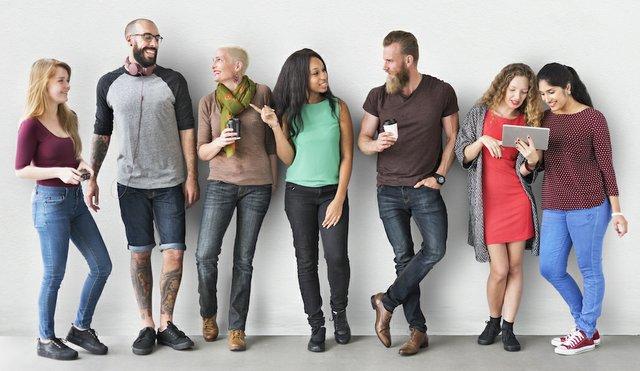 Shutterstock - Diverse Team