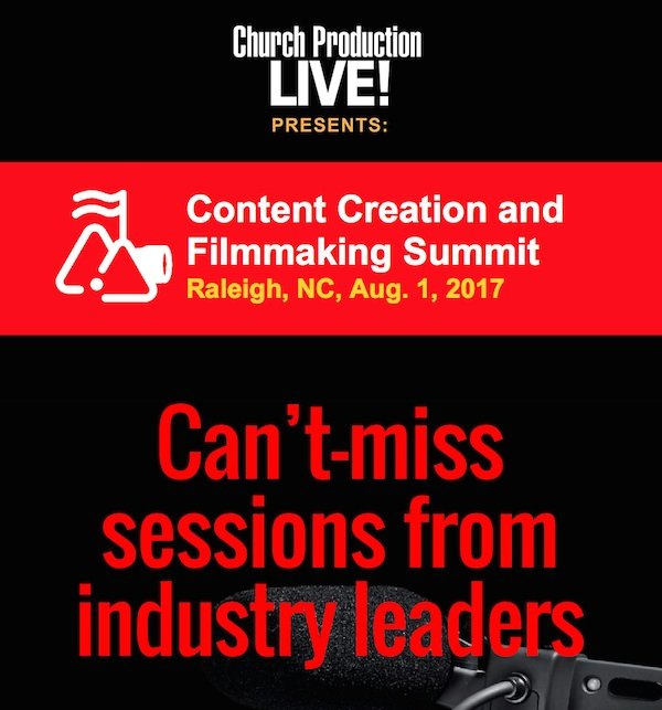 Content Creation and Filmmaking Summit - Can't Miss Sessions
