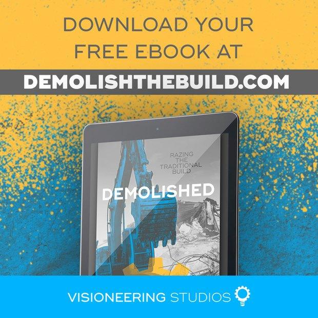 ELIMINATE VISION EROSION WITH DESIGN-BUILD.