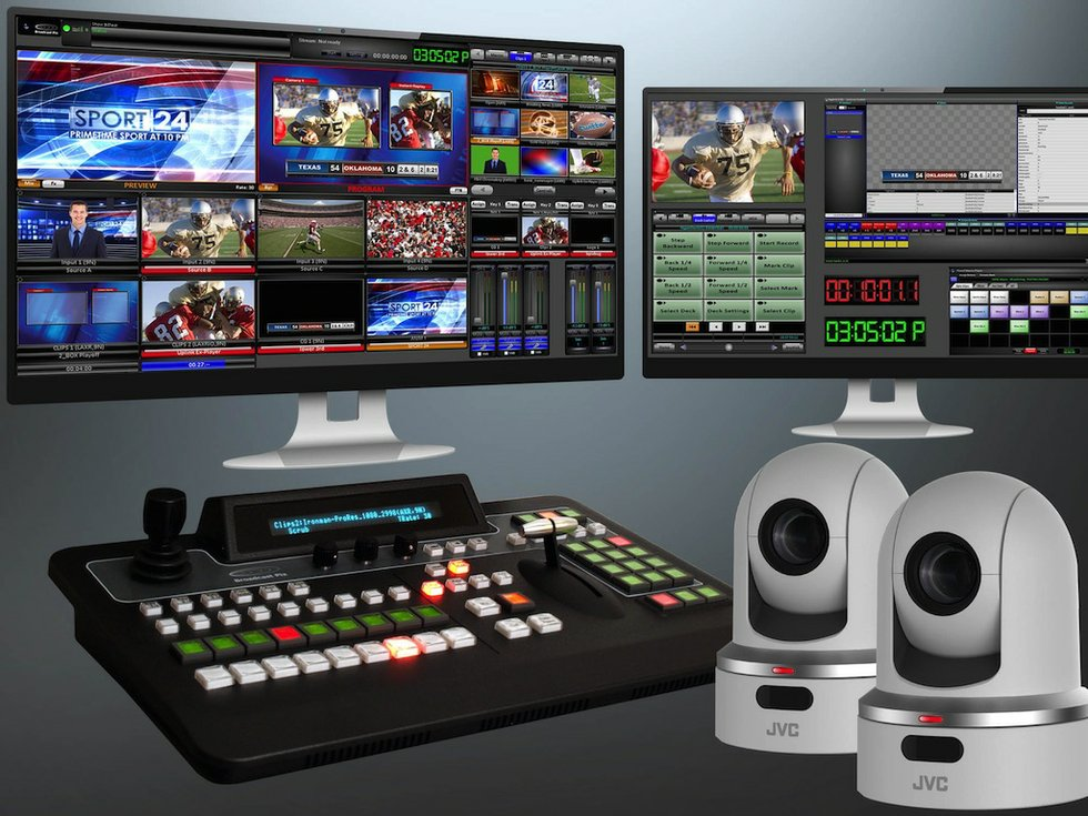 Jvc And Broadcast Pix Partner To Offer Production System
