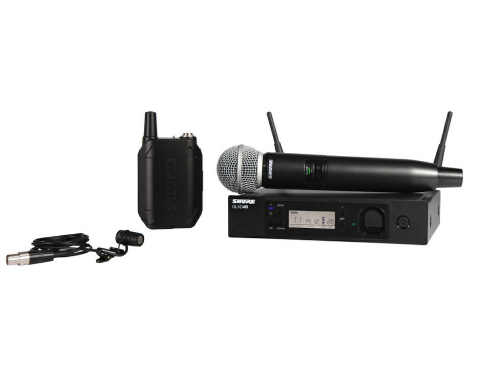 review shure glx d advanced wireless microphone system church production magazine. Black Bedroom Furniture Sets. Home Design Ideas