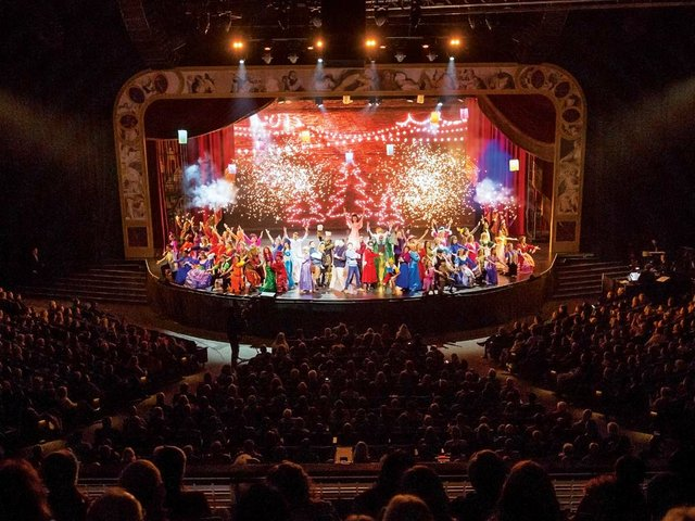 Gateway Church Southlake Christmas Musical 2020 Christmas Meets Broadway and Vegas   Church Production Magazine