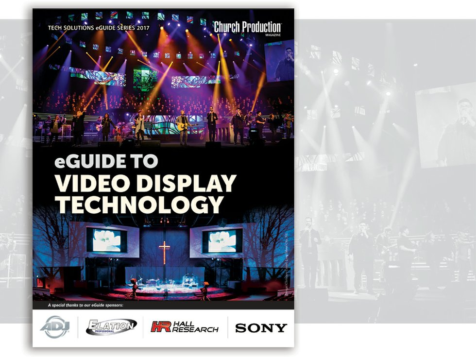 White Paper Video Display Technology Church Production