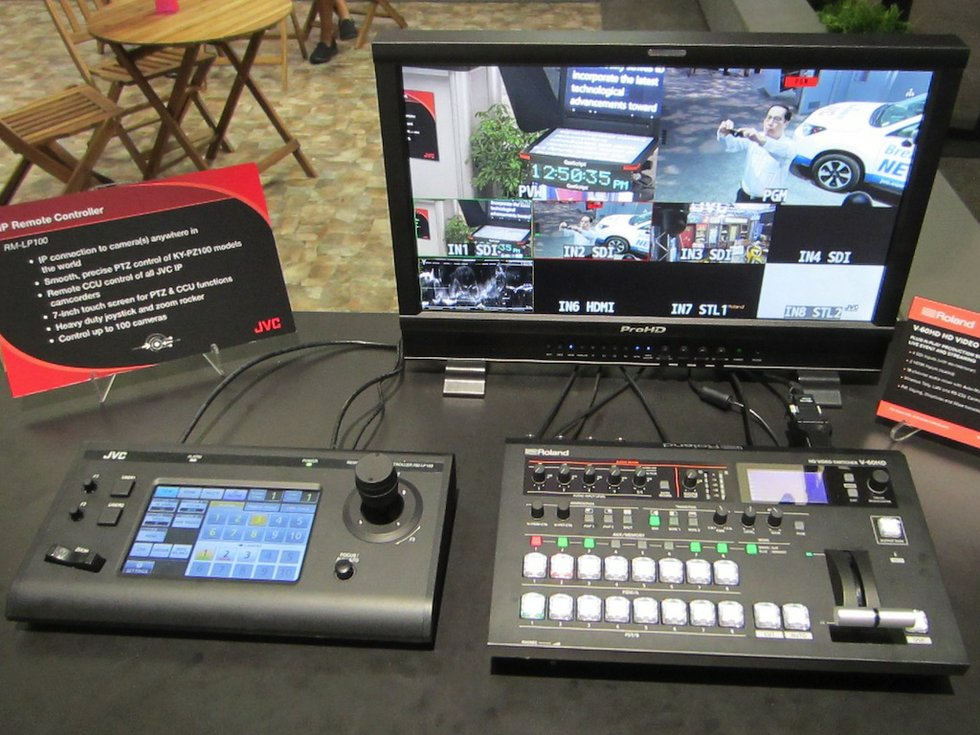 JVC Upgrades RM-LP100 Camera Controller, Enables Tally Functionality