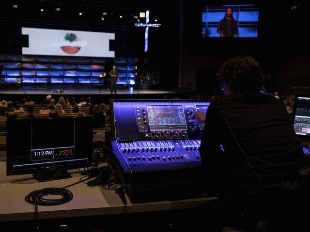 Crossroads Church Mixes with Allen & Heath dLive Trio - Church
