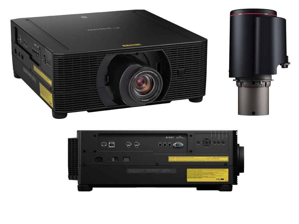 Canon Introduces Two New Native 4K Laser LCOS Projectors