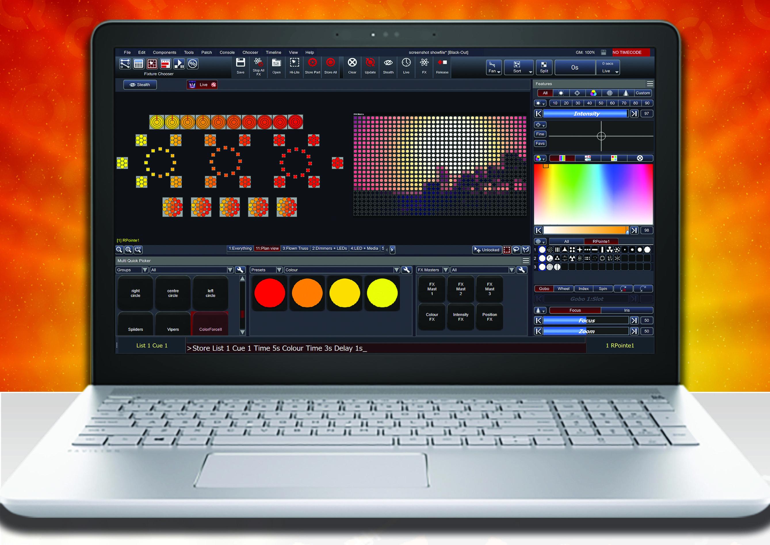 Review: Chroma-Q Vista 3 Lighting Controller - Church