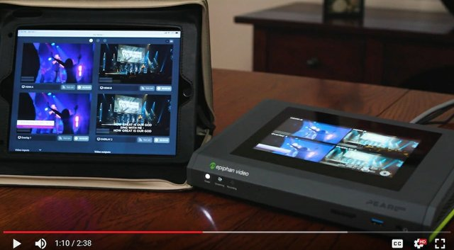 Epiphan Pearl Mini Video Production System