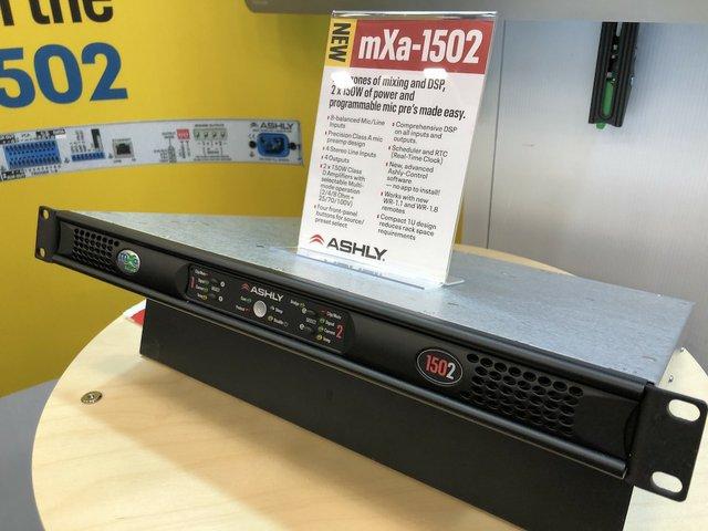 Ashly mXa-1502 from NAMM.jpg