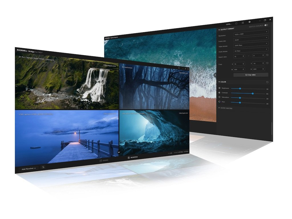 Magewell Introduces Three New Software Tools to Enhance Video