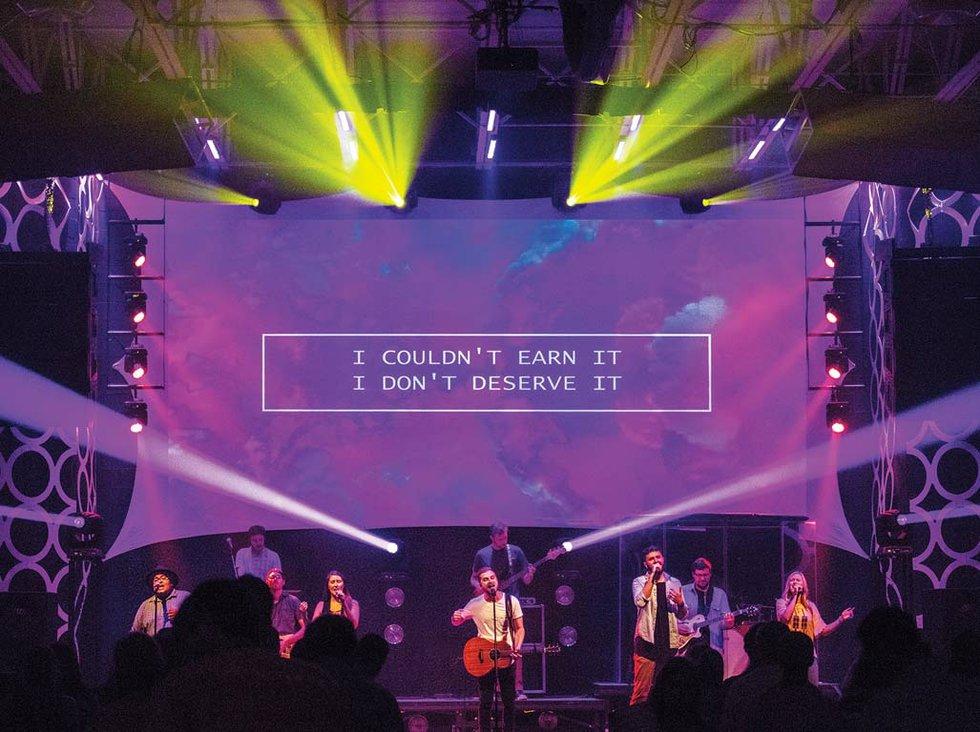 Top 5 Essentials For Modern Church Lighting Church Production Magazine