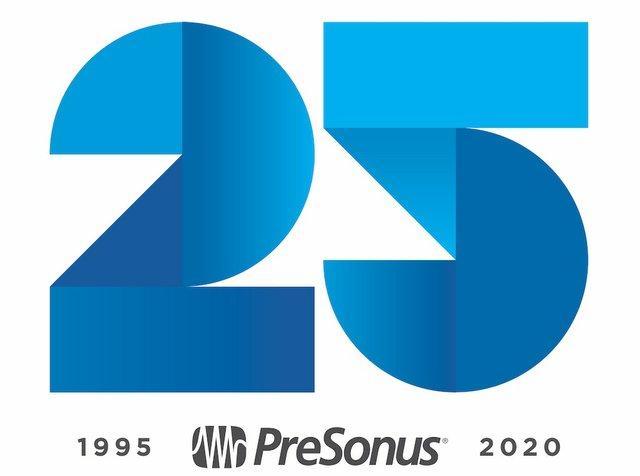 PreSonus 25 Anniversary Logo-sketch