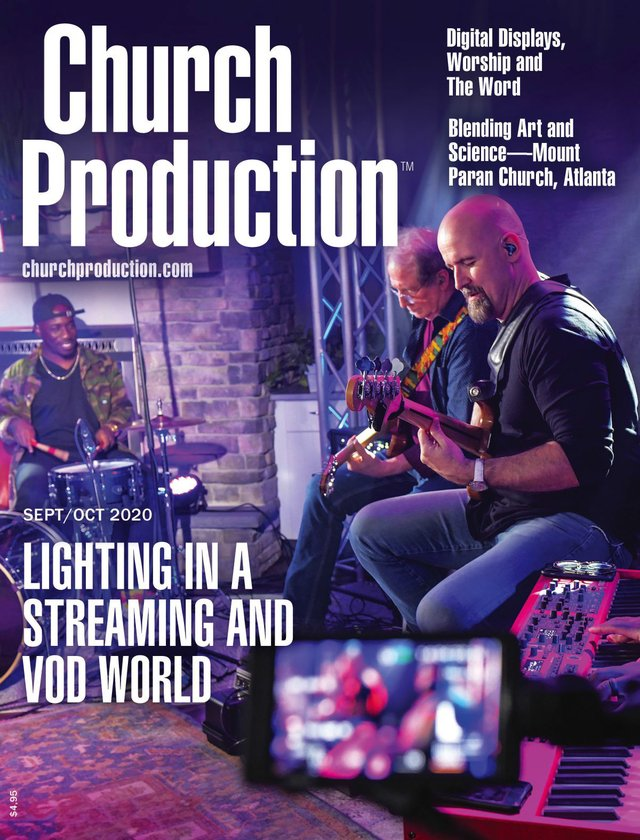 Church Production SeptOct 2020 Cover