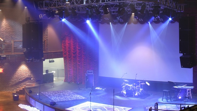 How To Guide Led Lighting And Control Infrastructure For Houses Of Worship Church Production Magazine