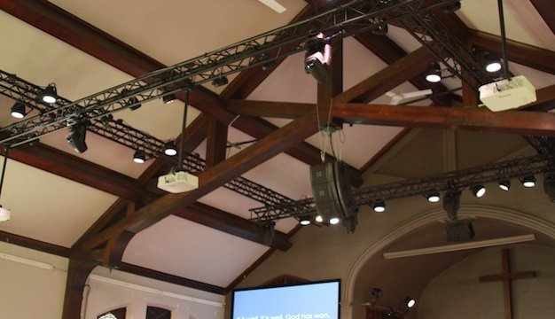 Hidden Rigging Support Fortifies Chicago Tabernacle - Church Production Magazine & Hidden Rigging Support Fortifies Chicago Tabernacle - Church ...