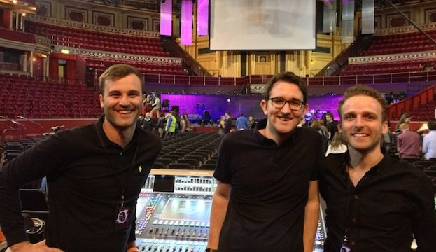 db_Royal_Albert_Hall_L-R_Mark_Sunderland_Ross_Cornwall,_Chris_Jones_sized.jpe