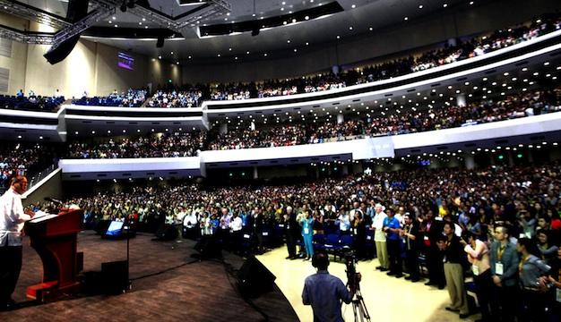 Philippine Mega Church S Massive Sound Church Production