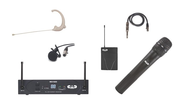 Clear Com Dx410 Wireless Intercom System Church