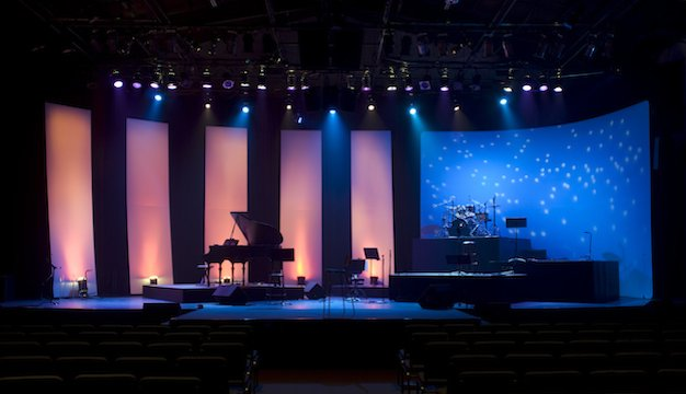 church stage design lessons in form following function church