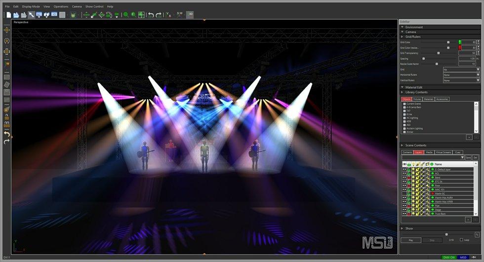 Brighter ideas new lighting design software options church