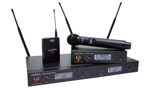 review audix performance series wireless microphone system church production magazine. Black Bedroom Furniture Sets. Home Design Ideas