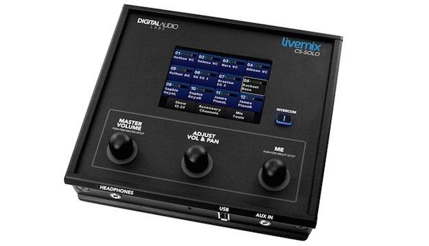 first impression digital audio labs livemix cs solo personal monitor mixer church production. Black Bedroom Furniture Sets. Home Design Ideas